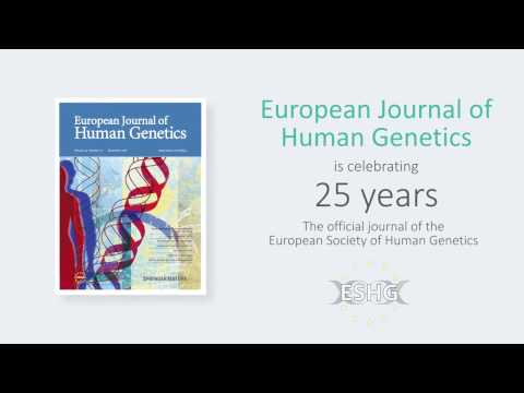 European Journal of Human Genetics Celebrates 25 years
