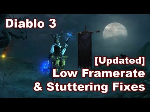 Diablo 3 Stutter and lag fix | Doovi