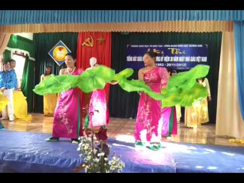 Múa Bài ca cô giáo trẻ- Trường Tiểu học Sơn Lĩnh- Hương Sơn - Hà Tĩnh
