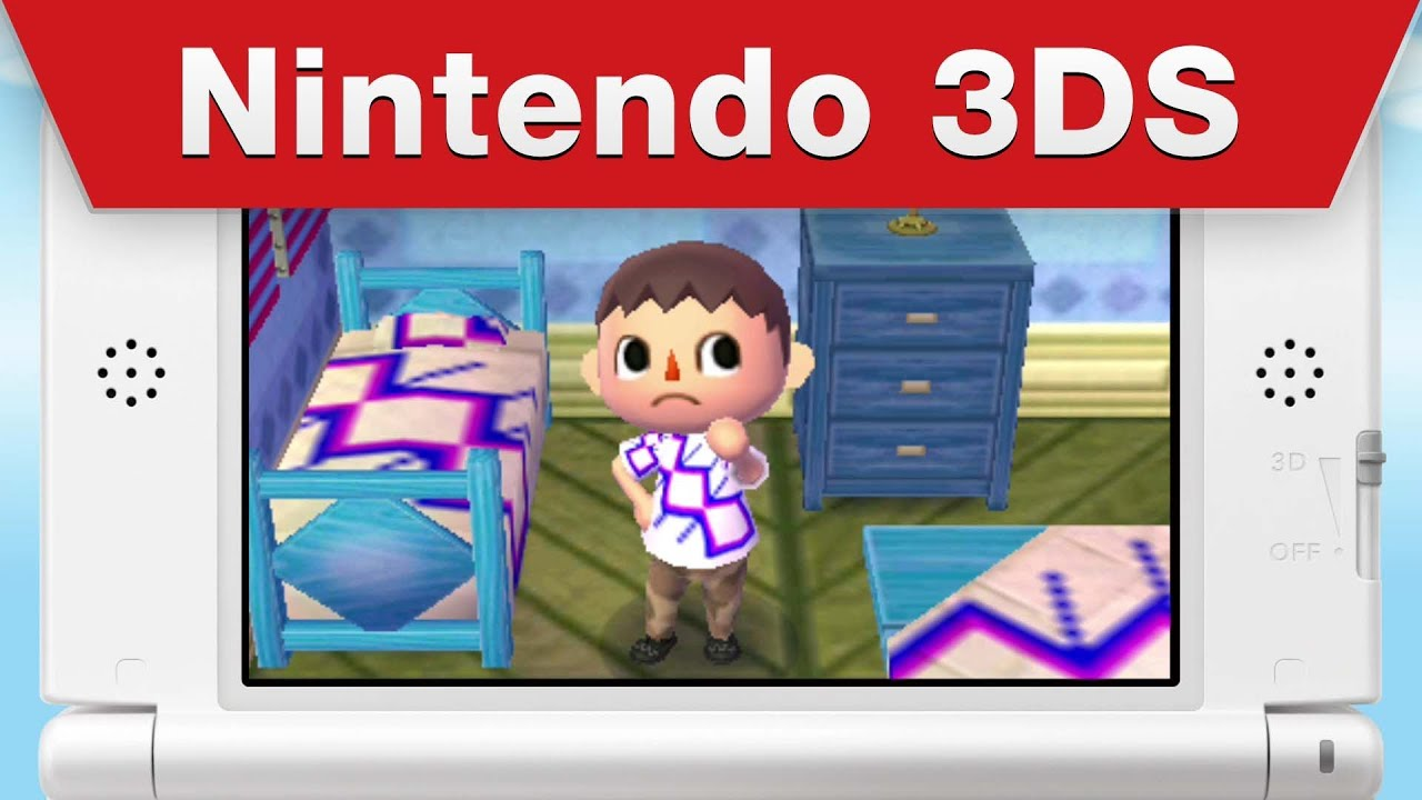 Nintendo 3ds Animal Crossing New Leaf Launch Trailer Youtube