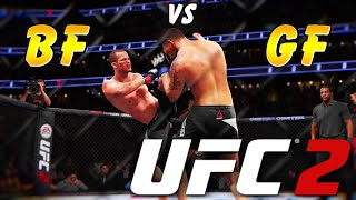 "UFC 2 Boyfriend VS Girlfriend #1 ""THE SLIPPERY MAT"""