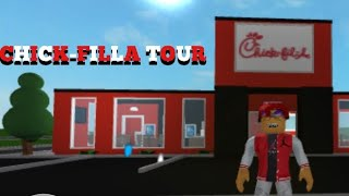 Bloxburg Chick-fil-A Tour Nouvelle Edition 'Roblox Bloxburg'