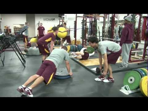 Gopher Men's Golf: Strength Regimen