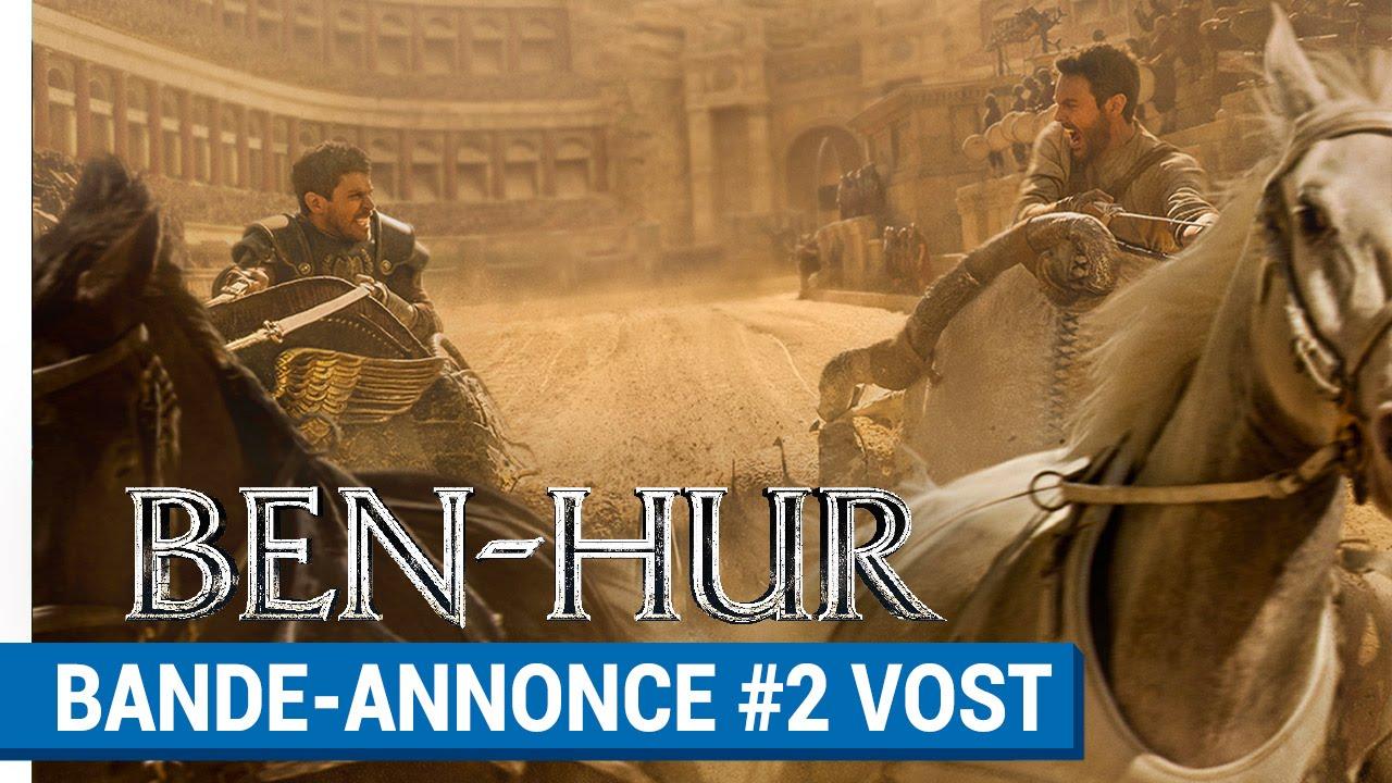 BEN-HUR - Bande-annonce #2 (VOST) [au cinéma le 7 septembre 2016]