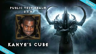 Diablo 3: Kanai's Cube Guide (2.3 PTR / NEW OP Feature)