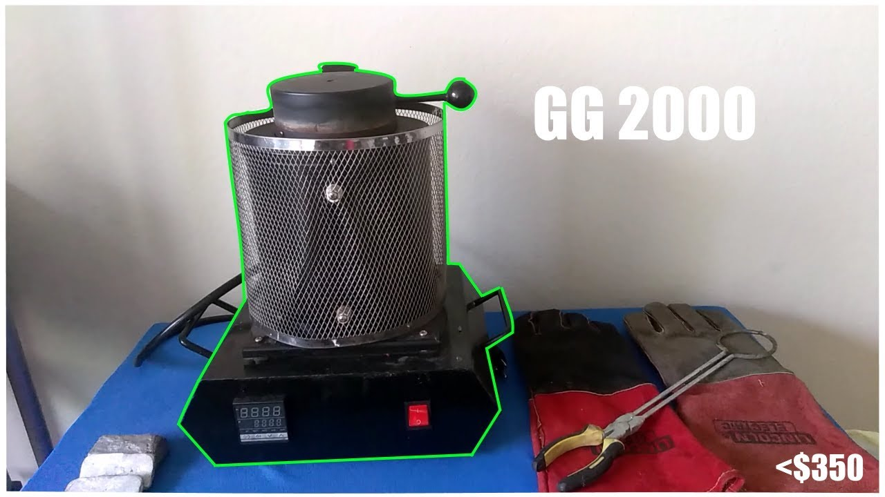best budget electric foundry gg 2000 mini smelting furnace [ 1280 x 720 Pixel ]