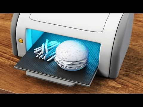 Food printers: another business idea for China