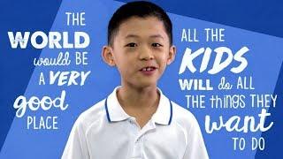 If Kids Ruled The World | Amazing Kids | Little Big Shots Australia