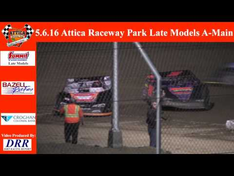 5.6.16 Attica Raceway Park Late Models A-Main