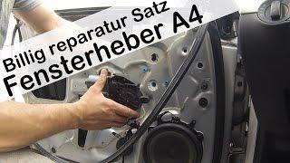 audi a4 8e b6 2008 fensterheber erneuern audi a4 window regulator replacement