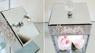 LUXURIOUS LIGHT UP DISPLAY CASE | QUICK AND EASY DIY | HOME DECOR | GLAM DIY 2019