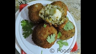 A new transformation of your leftover rice THE ARANCINI BALLS recipe