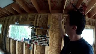 Garage Progress Update Summer - 96 - My Diy Garage Build Hd Time Lapse