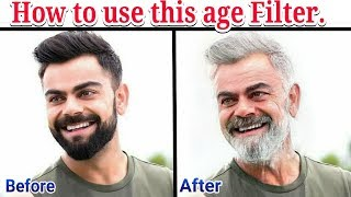 How to use age filter. Old Age Filter. Trending Old Age filter Instagram. Old Age App