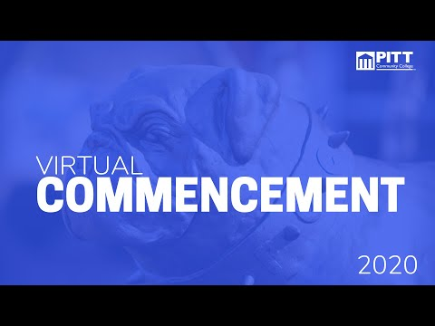 FALL 2020 Pitt Community College Virtual Commencement Ceremony
