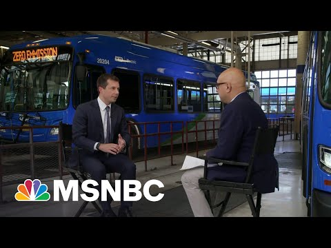 Sec. Buttigieg: It's Washington That Seems To Have A Problem With Human Infrastructure