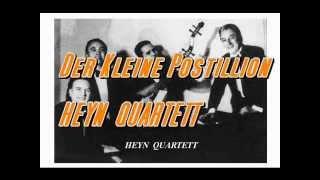 HEYN Quartett --- Der Kleine Postillion ....... Schellack .