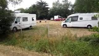 Aire de Camping Car de Beauvoir sur Mer  passage du GoisVendée