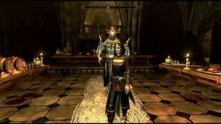 Skyrim Dawnguard - Taking Serana home to meet Lord Harkon