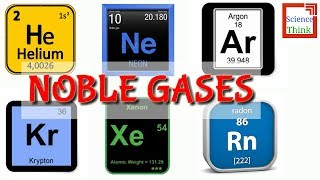 Noble Gases ~ In Hindi | Chemistry | By Science Think