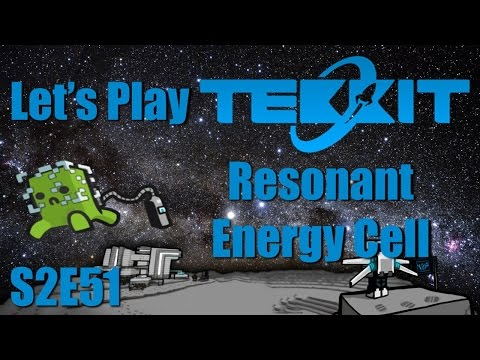 Let's Play Tekkit Main S02E51 - Resonant Energy Cell