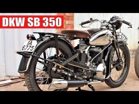 Реставрация мотоцикла DKW SB 350