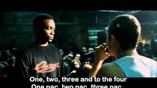 Repeat youtube video Eminem 8 Mile Final Battle lyrics