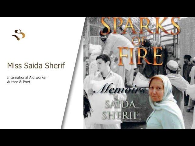 LEGENDARY  INTERNATIONAL AID WORKER -SAIDA SHERIF -INSPIRATIONAL MUSLIMS-E-20