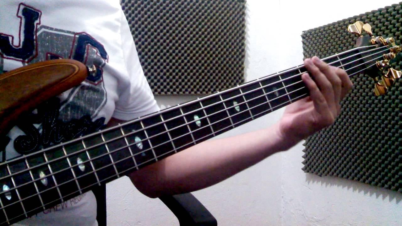 Le Crei Pesado Bajo Cover Bass Youtube