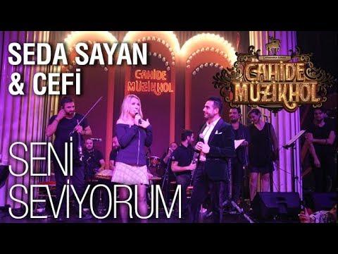 Seda Sayan feat. Cefi Tayuk- Seni Seviyorum @Cahide Müzikhol- Dinner Theater