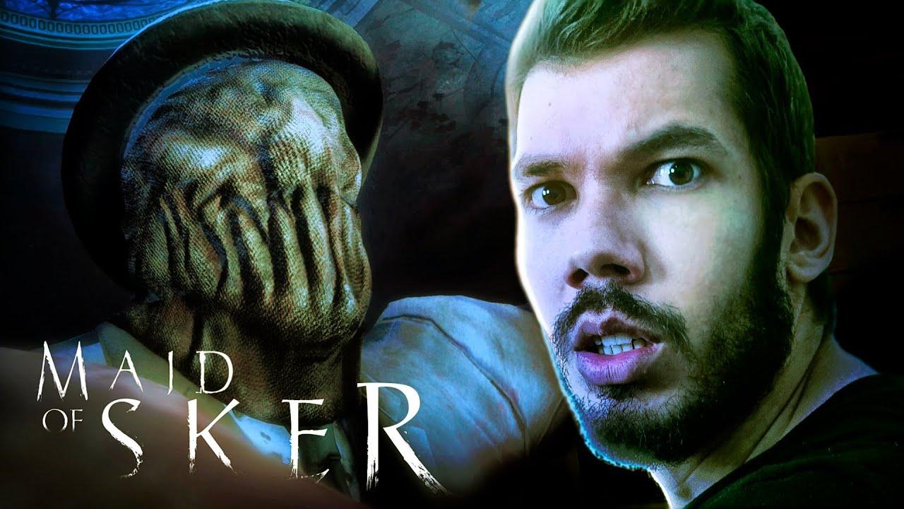 MAID OF SKER - Parte 2 : PARECE RESIDENT EVIL   Gameplay em Português PT-BR