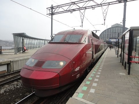 Thalys Train Ride From Amsterdam To Paris.