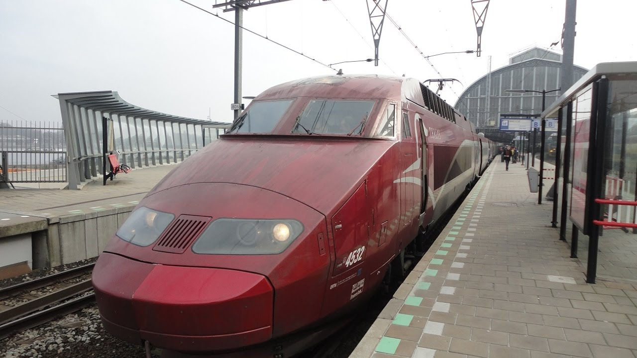 thalys train ride from amsterdam to paris youtube. Black Bedroom Furniture Sets. Home Design Ideas