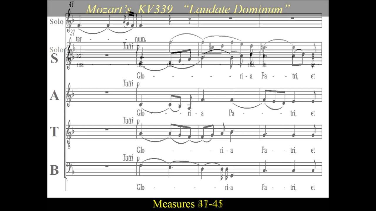Mozart: Laudate Dominum
