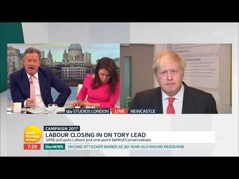 Boris Johnson on His Party