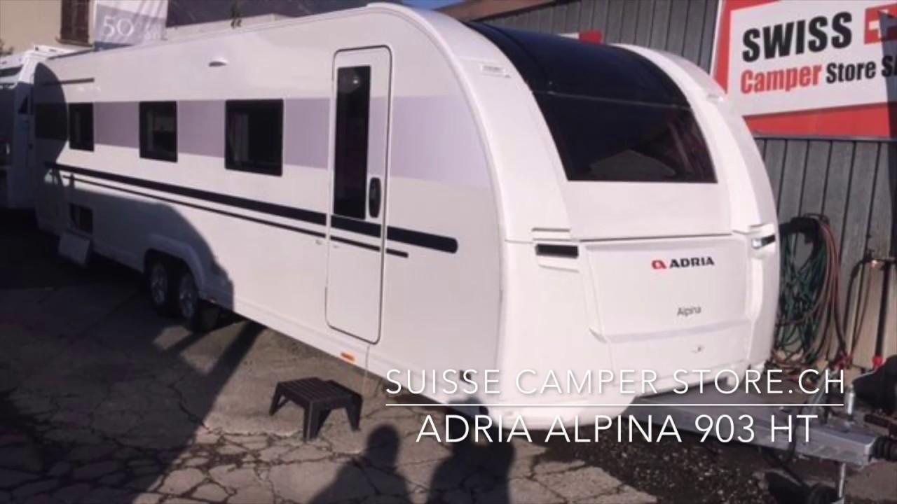 caravan Adria Alpina 903 HT - YouTube