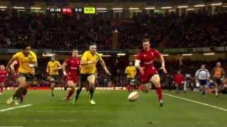 Australia vs Wales End of Year Tour 2013 HD