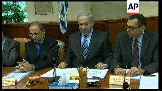 Netanyahu meets Cabinet; Israel hopes to expel activists within 72 hours