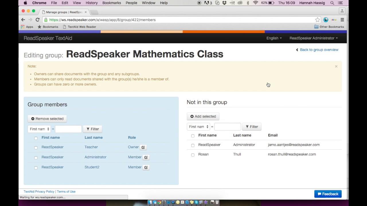 ReadSpeaker TextAid - Literacy Support
