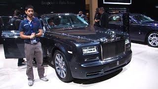 Il lusso Rolls-Royce al Salone di Parigi 2014