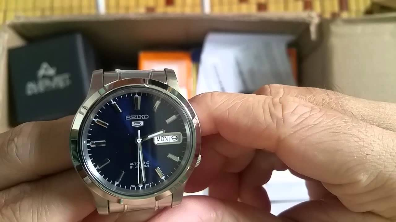 unboxing amp review seiko 5 mens snk793 automatic