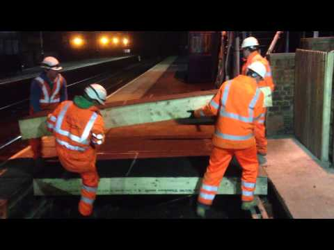 Temporary Platform Deck Removal