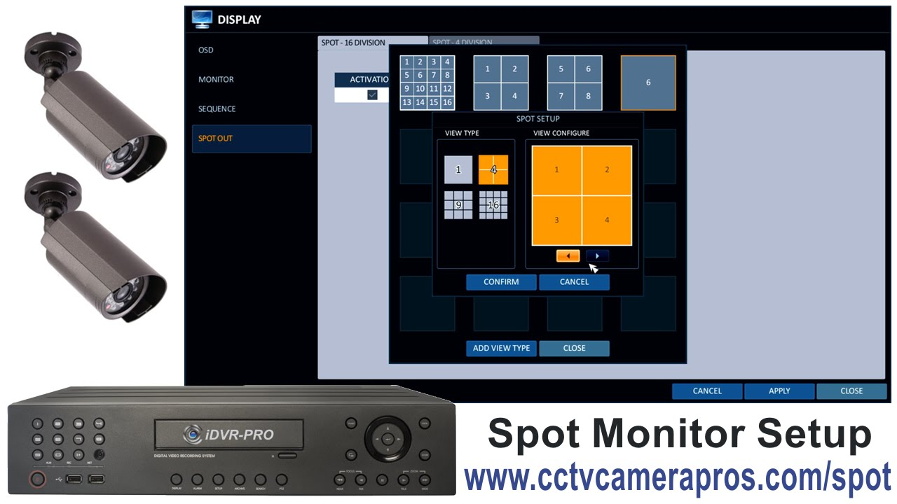 Can I Connect a Security Camera or Surveillance DVR System Directly