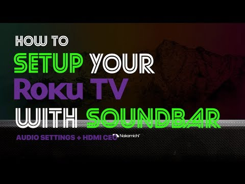 hook up roku to surround sound