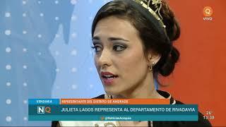 Conocé a la bellísima reina de Rivadavia: Julieta Lagos