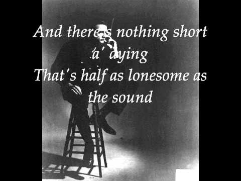 Johnny Cash - Sunday morning coming down with lyrics