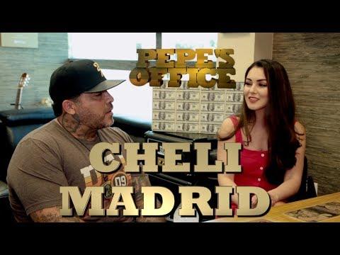 ANGEL DEL VILLAR PRESENTA A SU MAYOR PROMESA: CHELI MADRID - Pepe's Office