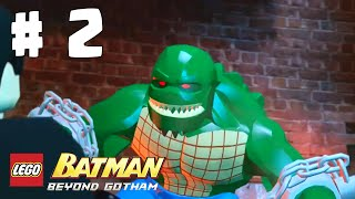 LEGO BATMAN : BEYOND GOTHAM - CROCODILO / PARTE 2 ( GAMEPLAY ANDROID )