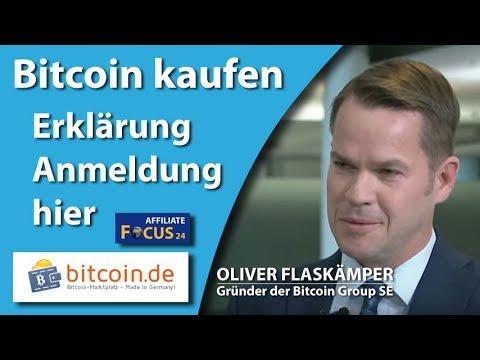 Basic Tutorial - Bitcoin.de - Registrierung & Bitcoin kaufen