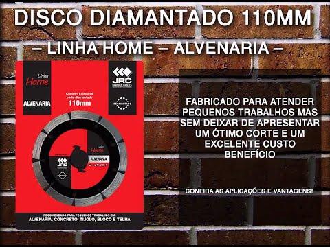Disco Diamantado 110mm - Alvenaria - Linha Home Center